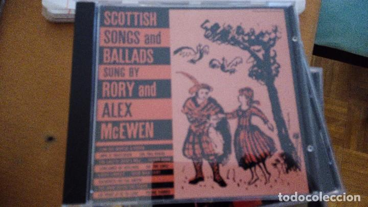 SCOTTIS SONGS AND BALLADS CD SUNG BY RORY AND ALEX MCEWEN (Música - CD's Country y Folk)