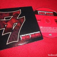 CDs de Música: 7 NOTAS 7 COLORES SIETE NIKES NUEVAS +1 CD SINGLE 2001 HIP HOP RAP NACIONAL. Lote 91630540