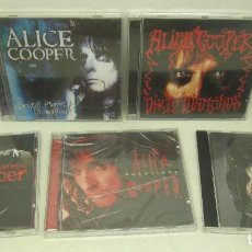 CDs de Música: 6 CD - ALICE COOPER - BRUTAL PLANET-DRAGON TOWN-CLASSICKS-THE DEFINITIVE-TRASH-DIRTY DIAMONDS. Lote 91668750