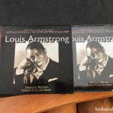 CDs de Música: LOUIS ARMSTRONG (DEJAVU RETRO GOLD) 2 CD DELUXE EDITION (CDI8). Lote 91755795