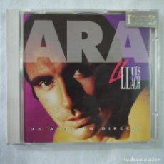 CDs de Música: LLUÍS LLACH - ARA - 25 ANYS EN DIRECTE - 2 CDS 1992 . Lote 91779240