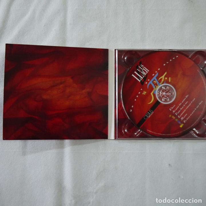 CDs de Música: LLUÍS LLACH - UN PONT DE MAR BLAVA - CD - Foto 2 - 91812755