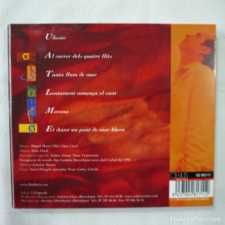 CDs de Música: LLUÍS LLACH - UN PONT DE MAR BLAVA - CD - Foto 3 - 91812755