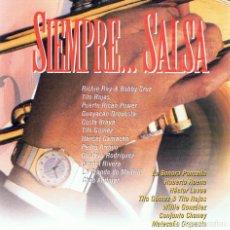 CDs de Musique: CD SIEMPRE... SALSA ( 2 CD´S). Lote 91815985