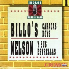 CDs de Música: CD BILLO´S CARACAS BOY & NELSON Y SUS ESTRELLAS . Lote 91816330