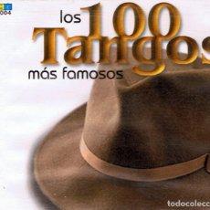 CDs de Música: CD LOS 100 TANGOS MÁS FAMOSOS ( 5 CD). Lote 91816460