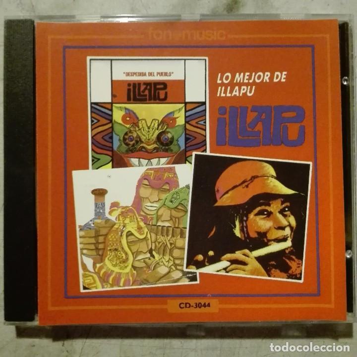 ILLAPU - LO MEJOR DE ILLAPU 1990 CD FONOMUSIC CHILE (Música - CD's World Music)