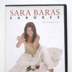 CDs de Música: SARA BARAS, DVD SABORES, FLAMENCO, GRABADO EN TEATRO NUEVO APOLO (MADRID) . Lote 91840070