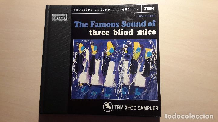THE FAMOUS SOUND OF THREE BLIND MICE. TBM XRCD SAMPLER. TBM-XR-9001. (Música - CD's Jazz, Blues, Soul y Gospel)