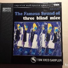 CDs de Música: THE FAMOUS SOUND OF THREE BLIND MICE. TBM XRCD SAMPLER. TBM-XR-9001.. Lote 91850770