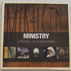 CDs de Música: MINISTRY - ORIGINAL ALBUN SERIES (5 CD) 2001. Lote 92094690