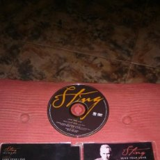 CDs de Música: STING - SEND YOUR LOVE (DVD VIDEO SINGLE). Lote 92094950
