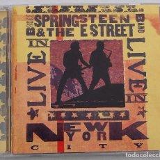 CDs de Música: BRUCE SPRINGSTEEN & THE ESTREET BAND - LIVE IN NEW YORK CITY ( 2CD) 2001. Lote 92097810