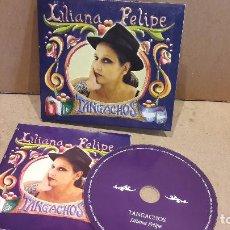 CDs de Música: LILIANA FELIPE. TANGACHOS. DIGIPACK-CD / LOS AÑOS LUZ. 13 TEMAS / CALIDAD LUJO.. Lote 92106055