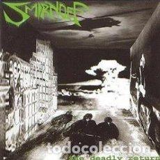 CDs de Música: SMIRNOFF -THE DEADLY RETURN-DEATH METAL GRIND CORE . Lote 92119850