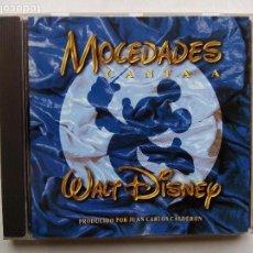 CDs de Música: MOCEDADES CANTA A WALT DISNEY. CD WALT DISNEY RECORDS 060526-2. ESPAÑA 1997. JUAN CARLOS CALDERÓN.. Lote 92198490