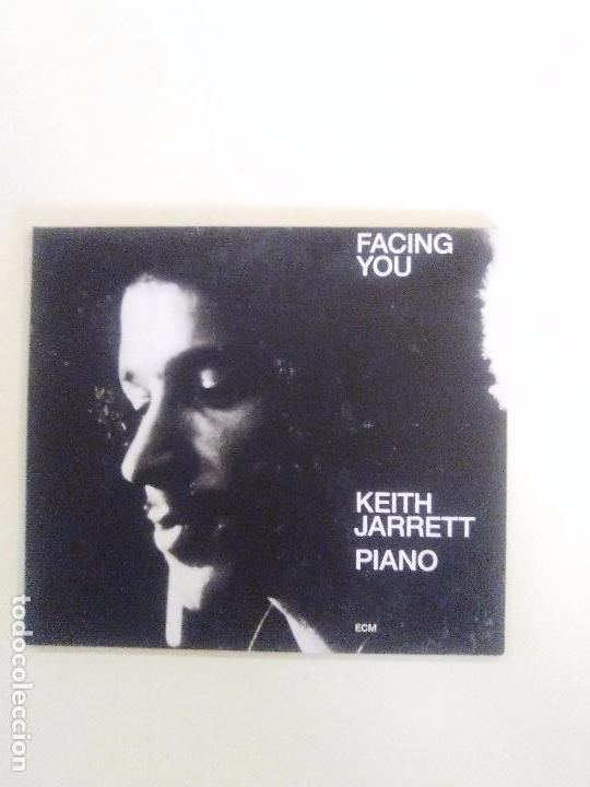 KEITH JARRETT FACING YOU ( 1972 ECM 2008 ) DIGIPAK EDICION 40 ANIVERSARIO ECM EXCELENTE ESTADO (Música - CD's Jazz, Blues, Soul y Gospel)