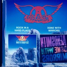 CDs de Música: AEROSMITH. ROCK IN HARD PLACE & MIRRORS. CD RUSIA 18 TEMAS. Lote 92286830