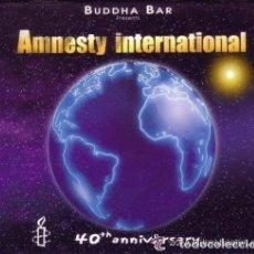 CDs de Música: BUDDHA-BAR - AMNESTY INTERNATIONAL 40TH ANNIVERSARY - 2 X CD - FRANCE 2001. Lote 92306775
