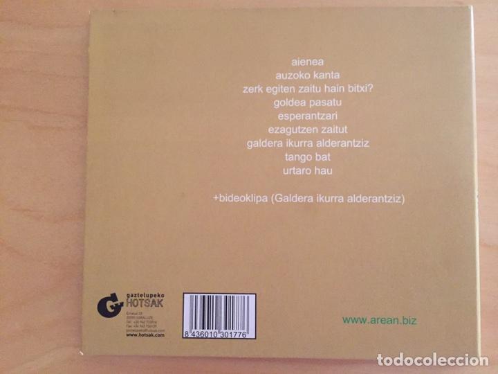 CDs de Música: AREAN: HIGAKORRA - Foto 2 - 92373442