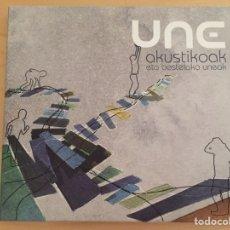 CDs de Música: UNE: AKUSTIKOAK ETA BESTELAKO UNEAK. Lote 92375840