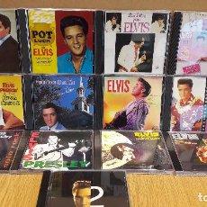 CDs de Música: ELVIS PRESLEY / CONJUNTO DE 13 CDS / CASI TODOS DE LUJO ( 1 DOBLE ) OCASIÓN !!. Lote 92390895