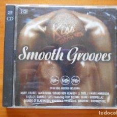 CDs de Música: CD SMOOTH GROOVES (2 CD) (H7). Lote 92396865