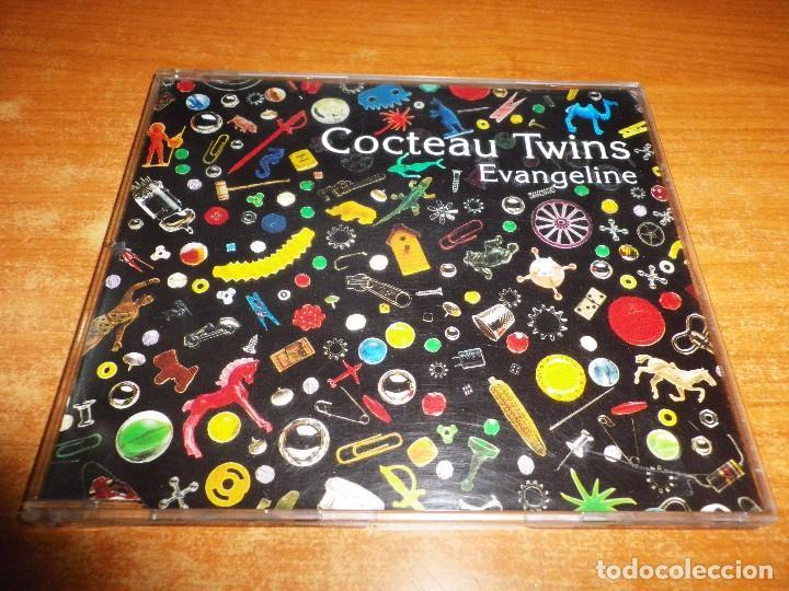 COCTEAU TWINS EVANGELINE CD SINGLE DEL AÑO 1993 PORTADA DE PLASTICO CONTIENE 3 TEMAS (Música - CD's Pop)