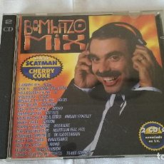 CDs de Música: 22-BOMBAZO MIX, 2 CDS, 1995. Lote 92755555