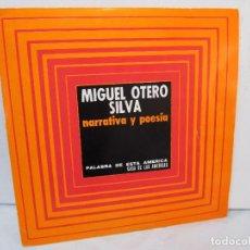 CDs de Música: MIGUEL OTERO SILVA. NARRATIVA Y POESIA. PALABRA DE ESTA AMERICA. CASA DE LAS AMERICAS. DISCO VINILO. Lote 92793995