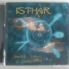 CDs de Música: ISTHAR - SANGRE, SUDOR Y LÁGRIMAS - COMO NUEVO. Lote 92819750