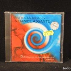 CDs de Música: PATRICIA KRAUS & DANIEL ASSANTE - BATERIA Y VOZ EN DOS MOVIMIENTOS - VOLUMEN 1 - CD. Lote 139209133