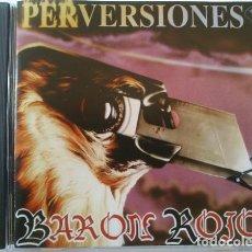 CDs de Música: BARÓN ROJO - PERVERSIONES - REEDICIÓN - COMO NUEVO. Lote 92824200