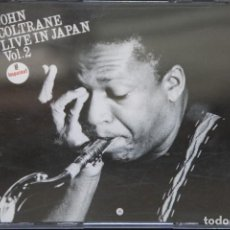 CDs de Música: JOHN COLTRANE. LIVE IN JAPAN. DOBLE CD. Lote 92834485