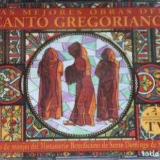 CDs de Música: MONJES SANTO DOMINGO SILOS. CANTOS GREGORIANOS. 1993. DOBLE CD. Lote 92835870