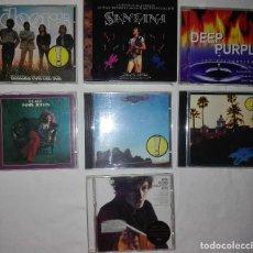 CDs de Música: EAGLES,BOB DYLAN,THE DOORS,DEEP PURPLE,SANTANA,JANIS JOPLIN. Lote 92845785