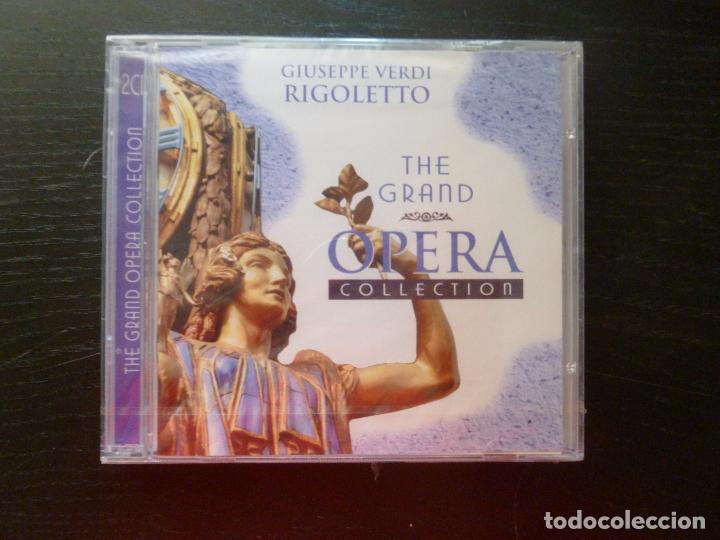 RIGOLETTO VERDI THE GRAND OPERA COLLECTION. 2CD ADD (Música - CD's Clásica, Ópera, Zarzuela y Marchas)