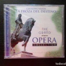 CDs de Música: LA FORZA DEL DESTINO. VERDI THE GRAND OPERA 2CD ¡NUEVO PRECINTADO!. Lote 92851035