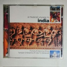 CDs de Música: A MUSICAL VOYAGE TO INDIA.A MUSICAL VOYAGE TO THE ANDES. Lote 92851120