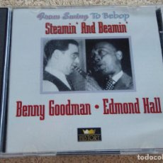 CDs de Música: BENNY GOODMAN / EDMOND HALL - FROM SWING TO BEBOP ( STEAMIN' AND BEAMIN' ) 2 CDS GERMANY. Lote 93107370
