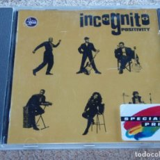 CDs de Música: INCOGNITO ( POSITIVITY ) 1993-GERMANY PHONOGRAM. Lote 93108400