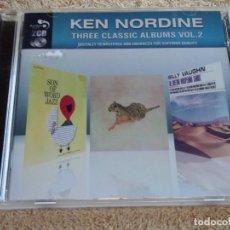 CDs de Música: KEN NORDINE ( THREE CLASSIC ALBUMS VOL.2 ) DOBLE CD ENGLAND-2010. Lote 93110500