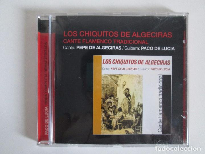 CDs de Música: LOS CHIQUITOS DE ALGECIRAS. CANTE FLAMENCO TRADICIONAL. PEPE DE ALGECIRAS. PACO DE LUCIA. 6 CD´S. - Foto 2 - 93118120