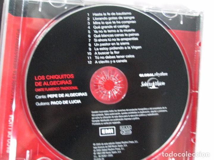 CDs de Música: LOS CHIQUITOS DE ALGECIRAS. CANTE FLAMENCO TRADICIONAL. PEPE DE ALGECIRAS. PACO DE LUCIA. 6 CD´S. - Foto 4 - 93118120