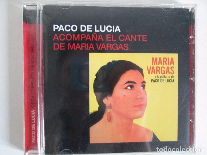 CDs de Música: LOS CHIQUITOS DE ALGECIRAS. CANTE FLAMENCO TRADICIONAL. PEPE DE ALGECIRAS. PACO DE LUCIA. 6 CD´S. - Foto 6 - 93118120