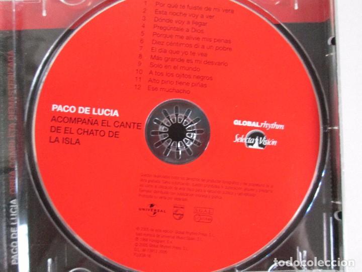 CDs de Música: LOS CHIQUITOS DE ALGECIRAS. CANTE FLAMENCO TRADICIONAL. PEPE DE ALGECIRAS. PACO DE LUCIA. 6 CD´S. - Foto 12 - 93118120