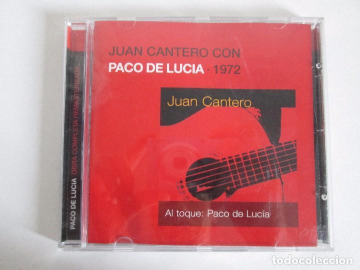 CDs de Música: LOS CHIQUITOS DE ALGECIRAS. CANTE FLAMENCO TRADICIONAL. PEPE DE ALGECIRAS. PACO DE LUCIA. 6 CD´S. - Foto 14 - 93118120