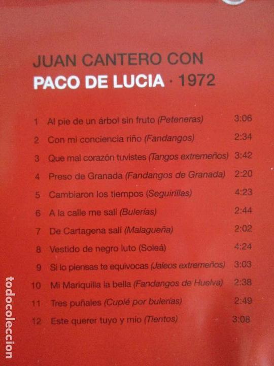 CDs de Música: LOS CHIQUITOS DE ALGECIRAS. CANTE FLAMENCO TRADICIONAL. PEPE DE ALGECIRAS. PACO DE LUCIA. 6 CD´S. - Foto 15 - 93118120