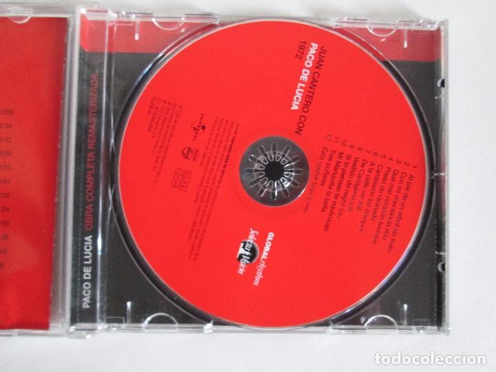 CDs de Música: LOS CHIQUITOS DE ALGECIRAS. CANTE FLAMENCO TRADICIONAL. PEPE DE ALGECIRAS. PACO DE LUCIA. 6 CD´S. - Foto 16 - 93118120