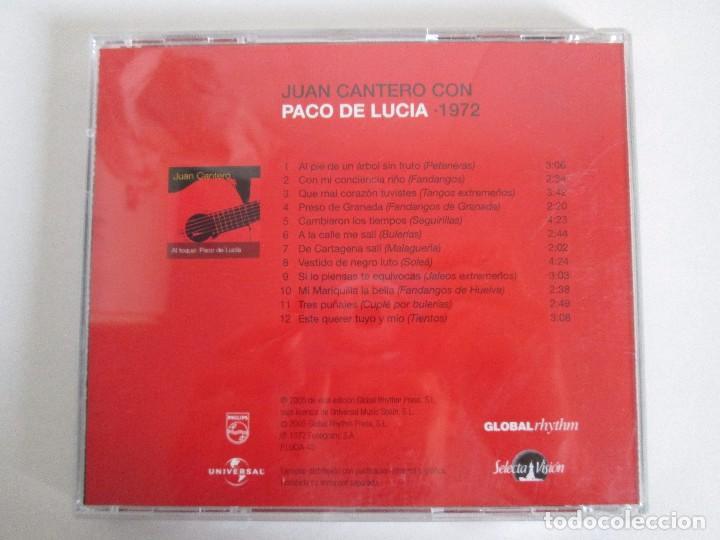 CDs de Música: LOS CHIQUITOS DE ALGECIRAS. CANTE FLAMENCO TRADICIONAL. PEPE DE ALGECIRAS. PACO DE LUCIA. 6 CD´S. - Foto 17 - 93118120
